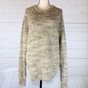 J. Crew Wool/Alpaca Crew Neck Sweater Size L